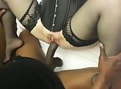 Interracial cuckold hardcore stockings bbc pov